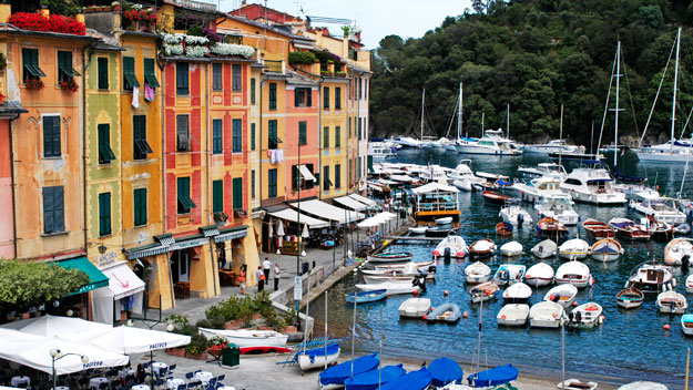 The harbour at Portofino